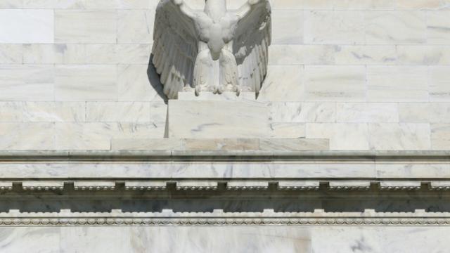 Les membres de la Réserve fédérale américaine (Fed) sont apparus soucieux de l'impact de l'économie internationale, notamment de la Chine, sur l'activité économique aux Etats-Unis et se sont inquiétés du renforcement du dollar [Nicholas Kamm / AFP/Archives]