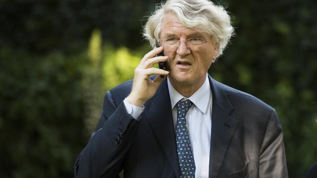 Le président du groupe BNP Paribas Baudoin Prot, le 5 juin 2014 à Paris [Martin Bureau / AFP/Archives]