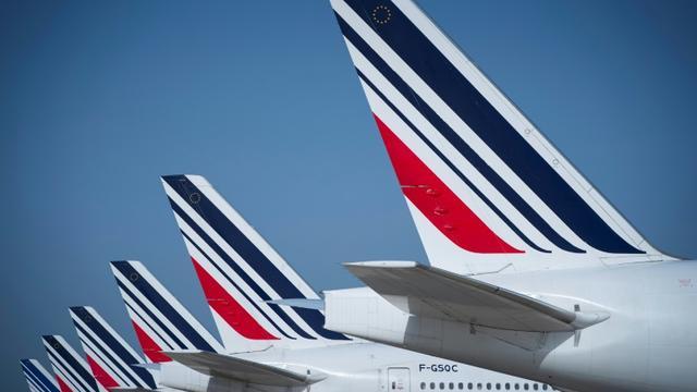 Des avions d'Air France stationnés sur le tarmac de l'aéroport parisien Roissy-Charles de Gaulle le 7 août 2018  [JOEL SAGET / AFP/Archives]