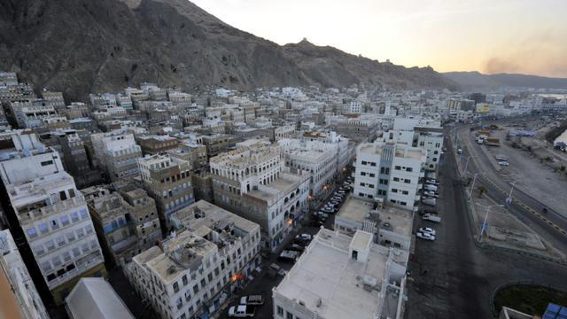 Vue générale sur la ville de Moukalla, dans le sud-est du Yémen, le 29 avril 2014 [Fawaz Al-Haidari / AFP/Archives]
