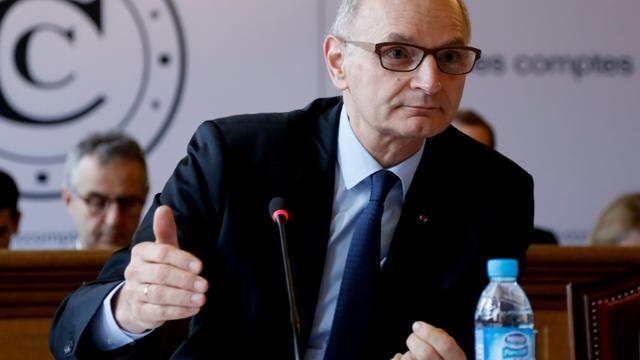 Le président de la Cour des comptes, Didier Migaud, le 8 février 2017 à Paris [FRANCOIS GUILLOT / AFP/Archives]