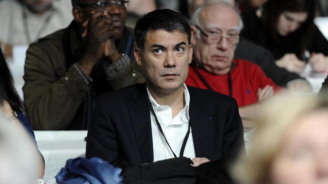 Le député socialiste Olivier Faure, photographié le 28 octobre 2012 à Toulouse lors du congrèc national du PS [Lionel Bonaventure / AFP/Archives]