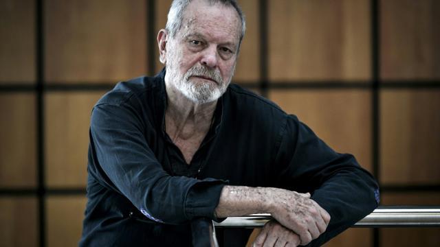 Le réalisateur Terry Gilliam à Paris le 13 mars 2018 [STEPHANE DE SAKUTIN / AFP/Archives]
