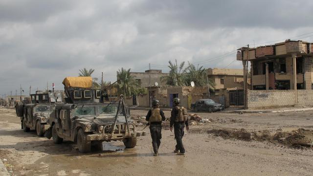 Une patrouille des forces irakiennes à Ramadi, le 4 février 2014 [Azhar Shallal / AFP/Archives]