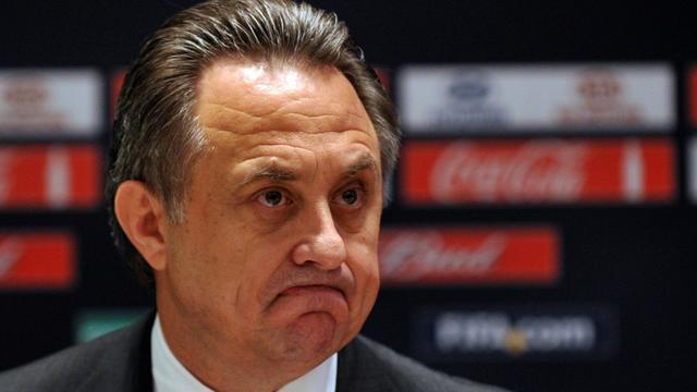 Le ministre russe des Sports, Vitali Moutko, le 30 septembre 2012 à Moscou [YURI KADOBNOV / AFP/Archives]