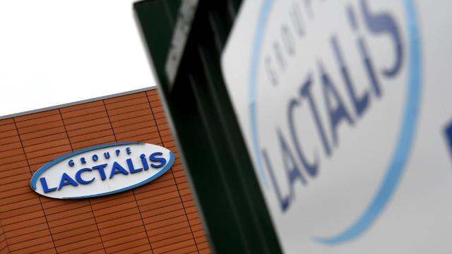 Un bâtiment du groupe Lactalis, à Laval en Mayenne, le 12 janvier 2018 [DAMIEN MEYER / AFP/Archives]