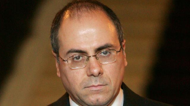 Le ministre israélien de l'Intérieur Sylvan Shalom , le 27 octobre 2005 à Paris [THOMAS COEX / AFP/Archives]