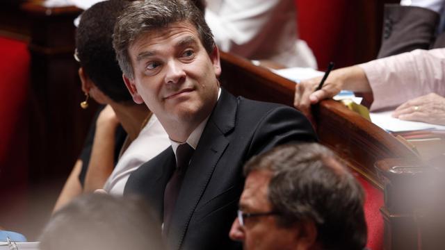Arnaud Montebourg, le 19 juin 2013 à l'Assemblée nationale [Francois Guillot / AFP]