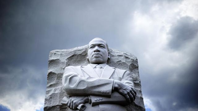 La statut du mémorial de Martin Luther King, le 24 août 2013 à Washington [Jewel Samad / AFP/Archives]