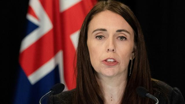 La Première ministre néo-zélandaise Jacinda Ardern, le 25 mars 2019 à Wellington [Marty MELVILLE / AFP]