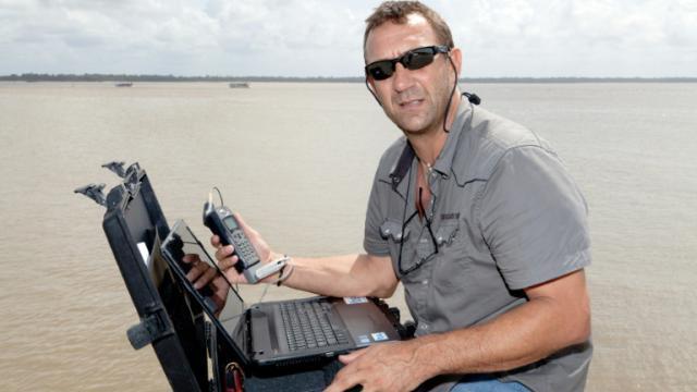 Le Français Patrick Deixonne le 13 avril 2012 à Cayenne [JODY AMIET / AFP/Archives]
