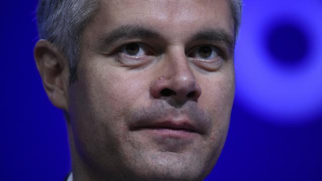 Le numéro deux de LR, Laurent Wauquiez, au conseil national du parti à Paris le 14 février 2016 [LIONEL BONAVENTURE / AFP]