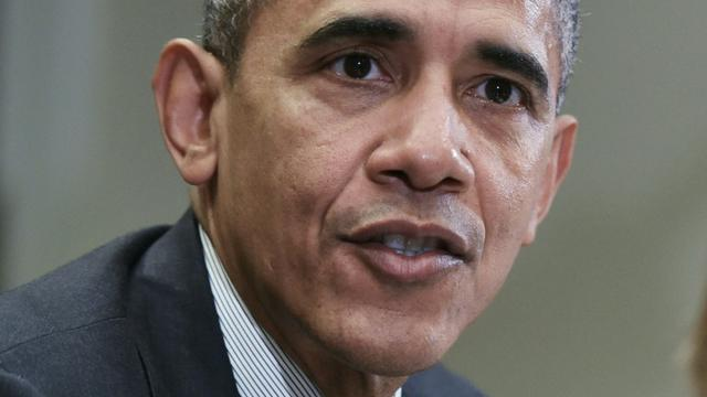 Le président américain Barack Obama à la Maison Blanche à Washington, le 9 février 2016 [Mandel Ngan / AFP]