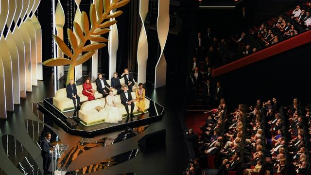 Le jury du 72e Festival de Cannes, le 25 mai 2019 au Palais des festivals, pour la cérémonie de clôture [ANTONIN THUILLIER / AFP]