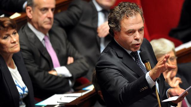 Luc Chatel le 24 avril 2013 à l'Assemblée Nationale à Paris [Pierre Andrieu / AFP/Archives]