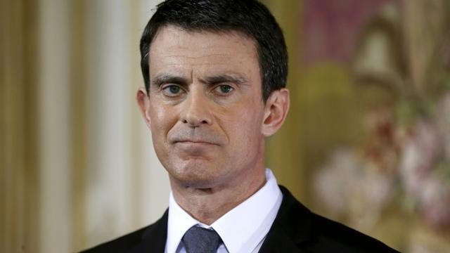 Le Premier ministre Manuel Valls, lors d'une conférence de presse, à Paris, le 8 février 2016 [PATRICK KOVARIK / AFP/Archives]