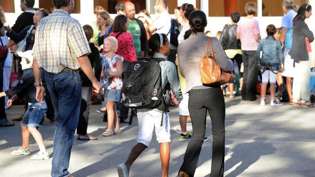 La rentrée scolaire dans une école primaire le 3 septembre 2013 à Ramonville [Remy Gabalda / AFP]