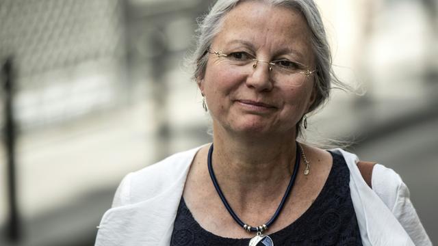 Agnès Thill, député LREM le 25 juin 2019 à Paris [Christophe ARCHAMBAULT / AFP]