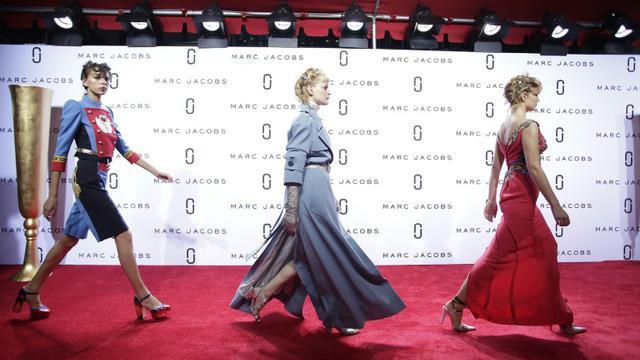 Défilé Marc Jacobs à New York à la manière d'une première de film le 17 septembre 2015  [Joshua LOTT / AFP]