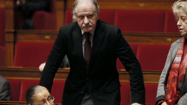 Le député écologiste de Gironde, Noël Mamère, le 17 décembre 2014 à l'Assemblée nationale à Paris [Patrick Kovarik / AFP/Archives]