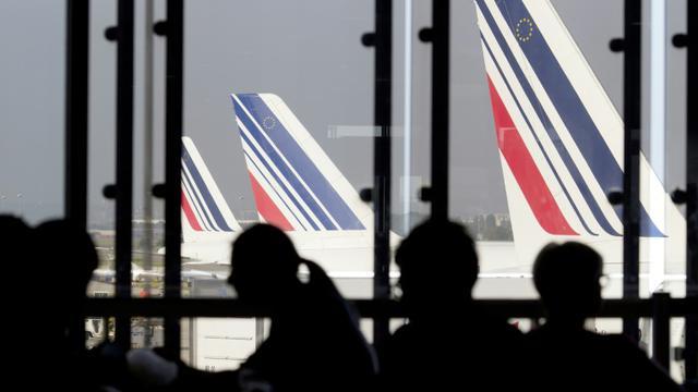Des avions de la flotte Air France, le 15 septembre 2014 à l'aéroport d'Orly [KENZO TRIBOUILLARD / AFP/Archives]