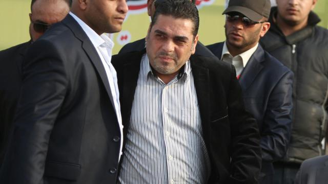 Samir Kantar le 9 février 2013 à Bagdad [AHMAD AL-RUBAYE / AFP/Archives]