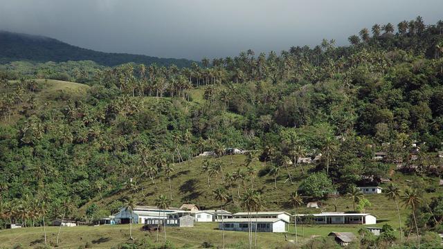 L'île de Pentecôte au Vanuatu, le 13 septembre 2005 [MARC LE CHELARD / AFP/Archives]