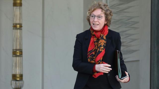 La ministre française du Travail Muriel Pénicaud à sa sortie de l'Elysée, le 28 février 2018 [ludovic MARIN / AFP/Archives]