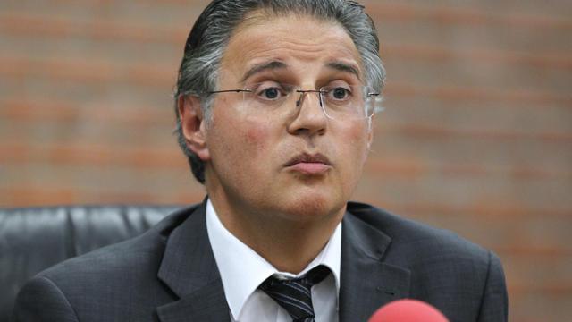 Le directeur de la PJ parisienne Bernard Petit le 23 juin 2012 à Bobigny  [Francois Guillot / AFP/Archives]