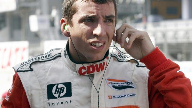 Justin Wilson le 9 novembre 2007 à Mexico [Ronaldo Schemidt / AFP/Archives]