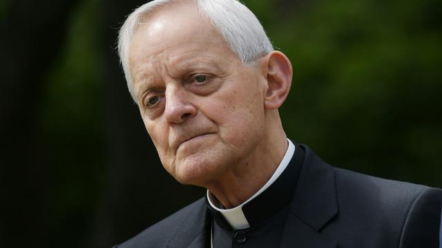 Le cardinal américain Donald Wuerl, le 4 mai 2017 à Washington [MANDEL NGAN / AFP/Archives]