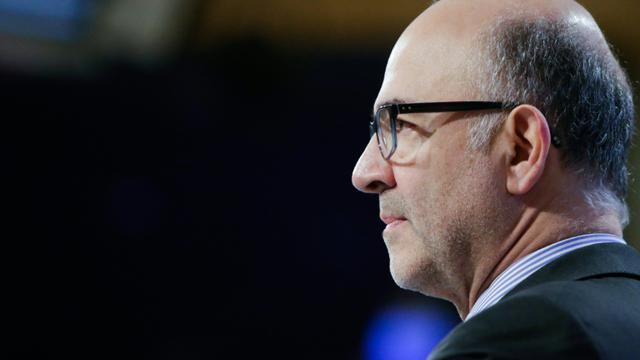 Le commissaire européen aux affaires économiques Pierre Moscovici, le 5 décembre 2018 à Bruxelles, en Belgique [Aris Oikonomou / AFP/Archives]