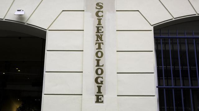 La façade d'une église de scientologie à Paris en février 2010 [Loic Venance / AFP/Archives]
