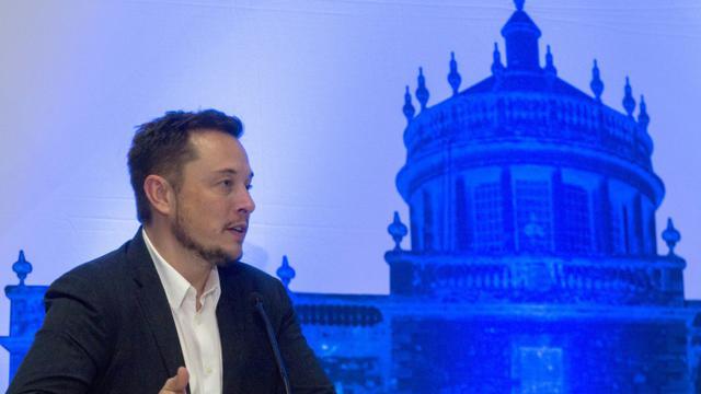 Le milliardaire Elon Musk à Guadalajara, au Mexique, le 27 septembre 2016 [HECTOR GUERRERO / AFP]