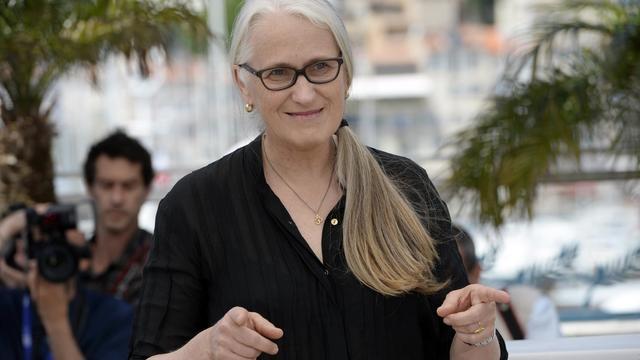 Jane Campion le 22 mai 2013 à Cannes [Anne-Christine Poujoulat / AFP/Archives]