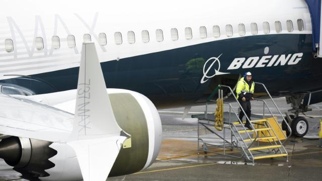 Un Boeing 737 MAX 9 dans l'usine de Renton, dans l'Etat de Washington, le 12 mars 2019  [Jason Redmond / AFP]