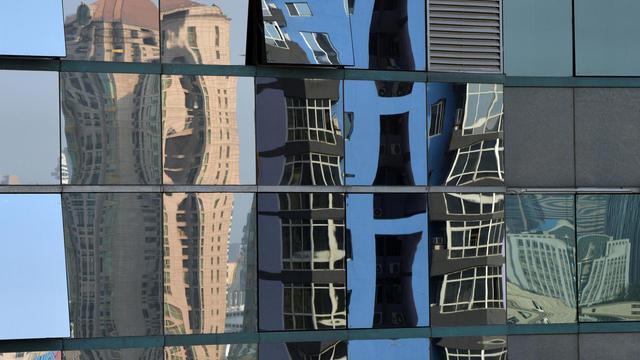 Immeubles de luxe à Pekin, le 6 mai 2013. Un pour cent des ménages les plus riches en Chine contrôle plus d'un tiers des richesses du pays  [Mark Ralston / AFP/Archives]