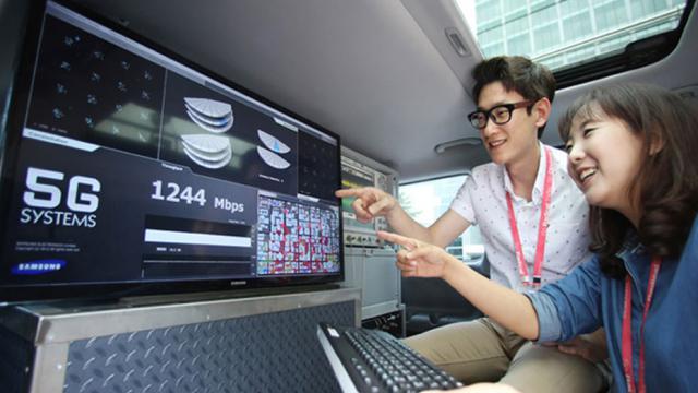 Samsung prépare actuellement le passage à la 5G pour 2018.