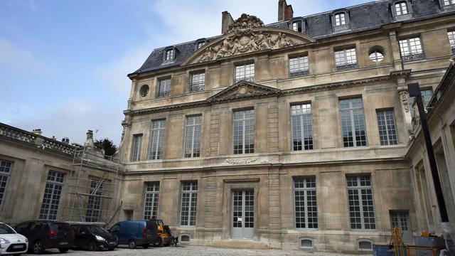 La cour de l'hôtel Salé, qui abrite le musée Picasso, le 4 mars 2014 à Paris [Thomas Samson / AFP/Archives]