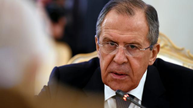 Le ministre des Affaires étrangères russe Sergueï Lavrov, à Moscou le 27 novembre 2015 [VASILY MAXIMOV / AFP]