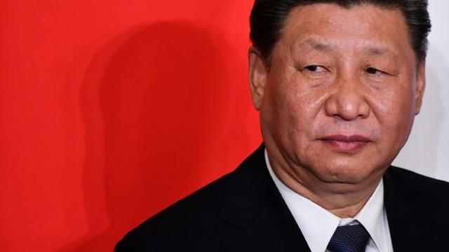 Le président chinois Xi Jinping, à Rome, le 23 mars 2019 [Alberto PIZZOLI / AFP]