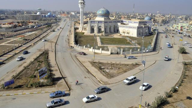 La place principale de Ramadi (Irak), le 17 janvier 2011 [Azhar SHALLAL / AFP/Archives]
