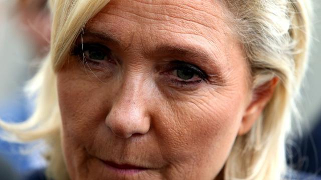 Marine Le Pen, à Châlons-en-Champagne, le 7 septembre 2018 [FRANCOIS NASCIMBENI / AFP/Archives]
