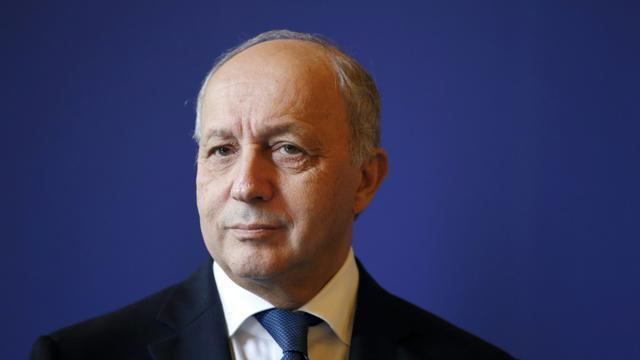 Laurent Fabius, ministre français des Affaires étrangères, le 26 octobre 2015, à Paris [PATRICK KOVARIK / AFP]