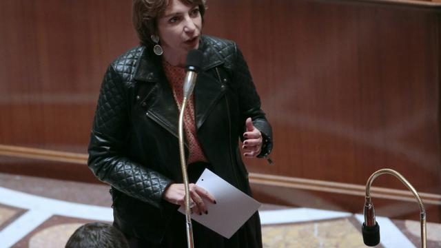 La ministre de la Santé Marisol Touraine, le 21 octobre 2015, à l'Assemblée nationale [JACQUES DEMARTHON / AFP/Archives]