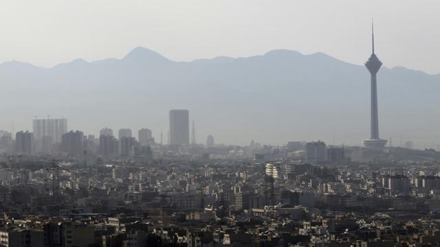 Vue générale de Téhéran [ATTA KENARE / AFP/Archives]