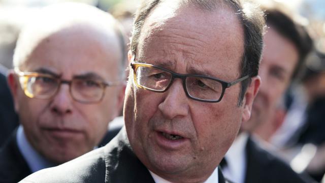 Le président François Hollande le 7 octobre 2015 à Biot  [JEAN CHRISTOPHE MAGNENET / AFP/Archives]