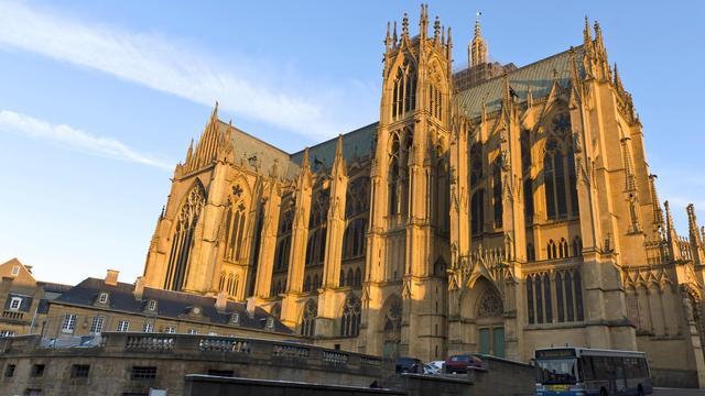La cathédrale Saint-Etienne de Metz le 6 février 2012 [Jean-Christophe Verhaegen / AFP/Archives]
