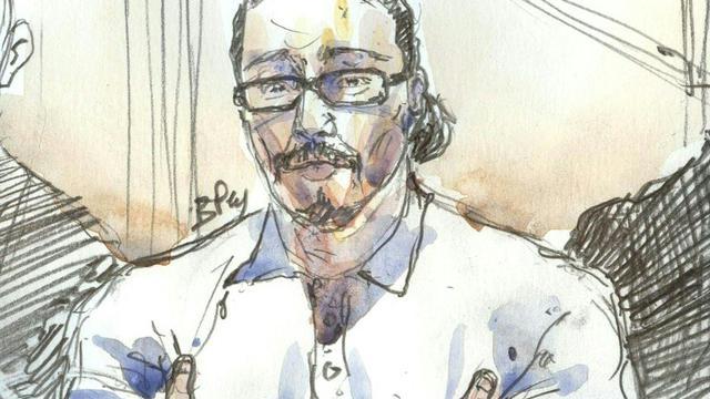 Jawad Bendaoud au Palais de justice le 24 janvier 2018 [ / AFP]