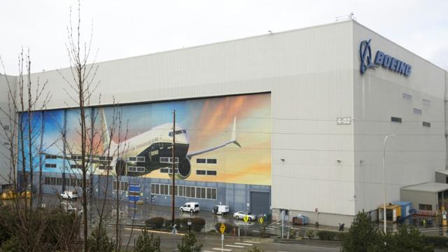 L'usine Boeing à Renton, le 12 mars 2019 [Jason Redmond / AFP/Archives]
